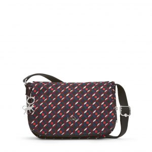 2358c3e531 EARTHBEAT S – Red Tile Print Kipling's Earthbeat S is a small, cross-body  shoulder bag that'll take you from day to night with effortless ease.